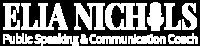 Elia Nichols White Logo